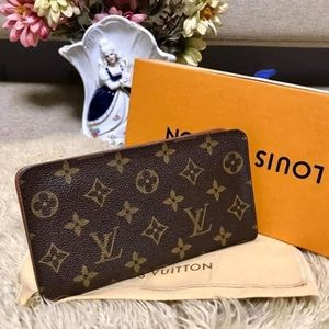 Auth. Long Zippy Wallet